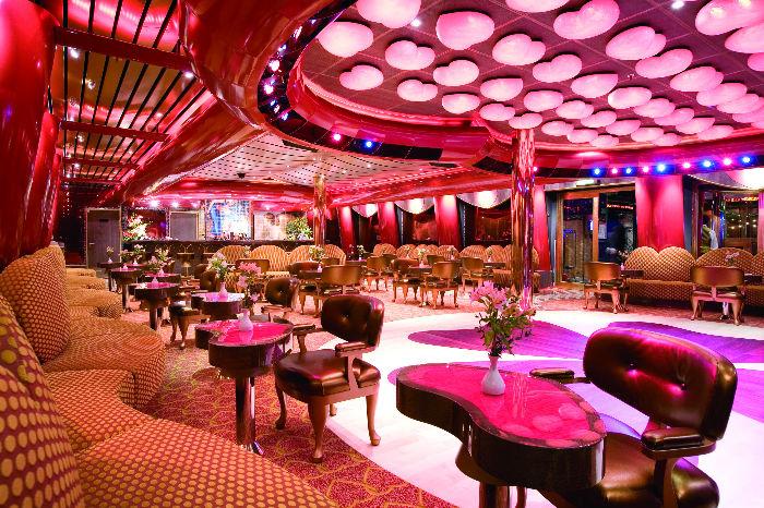 Salón en el Costa Serena
