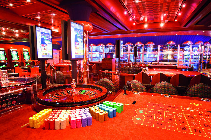 Casino a bordo del Costa Pacifica