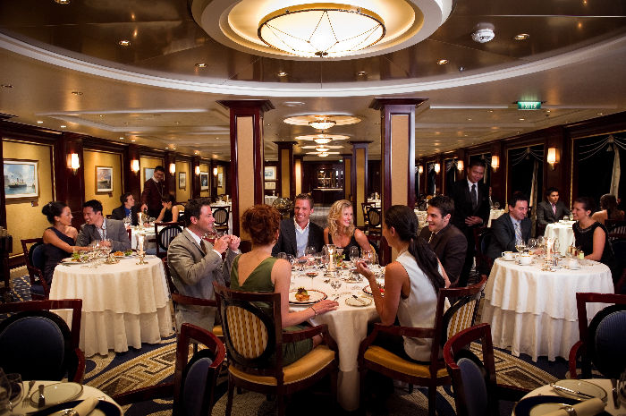 Restaurante Ocean Liders Celebrity Costellation