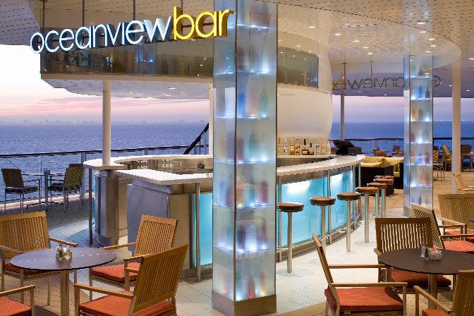 Bar Oceanview Celebrity Solstice
