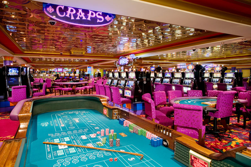 Casino en el Norwegian Gem