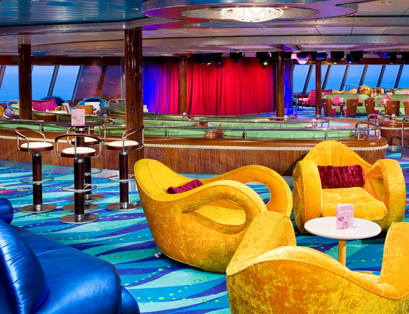 Spinnaker Lounge en el Norwegian Gem