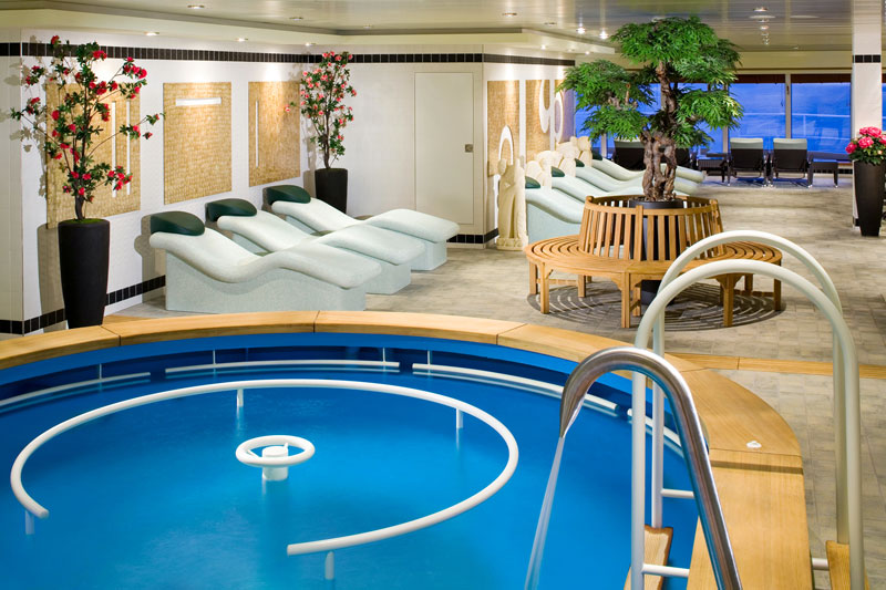 Spa en el Norwegian Gem
