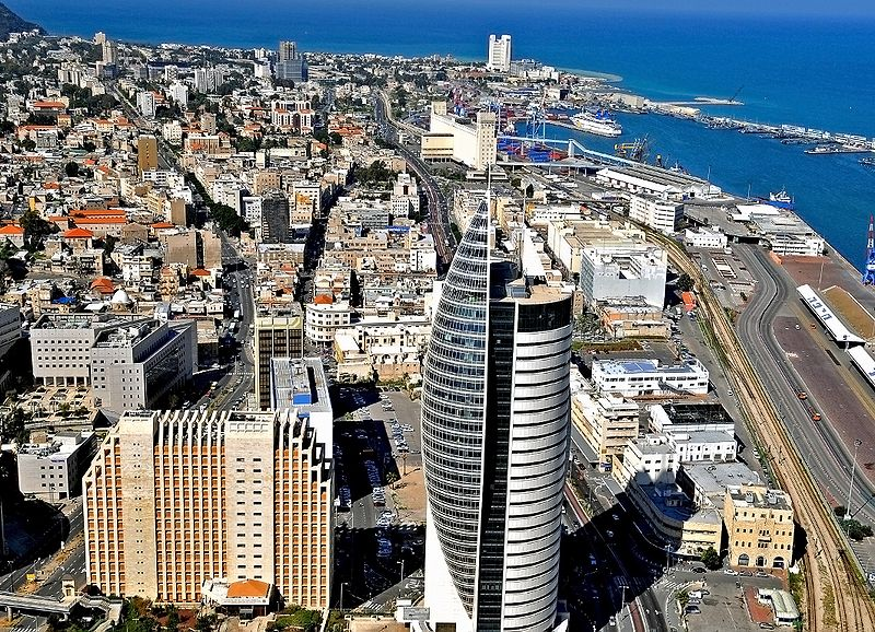 Haifa panoram city