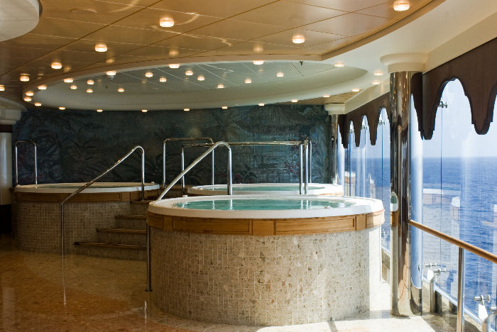 Spa a bordo del MSC Musica