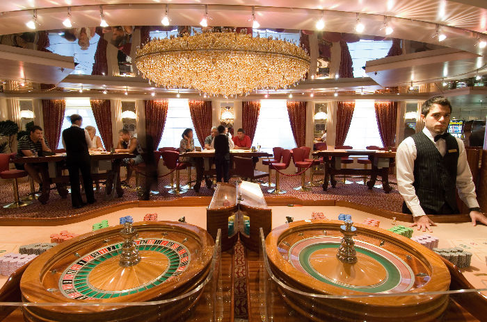 Casino a bordo del MSC Sinfonia