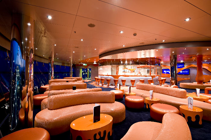 Le Club en el MSC Splendida