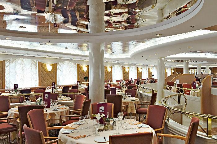 Restaurante en MSC Lirica