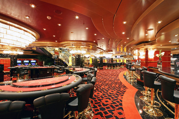 Casino a bordo del MSC Fantasia