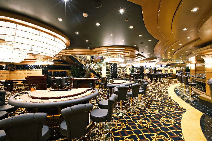 Casino a bordo del MSC Splendida