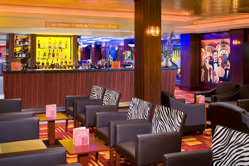 Maltings Bar en el Norwegian Pearl