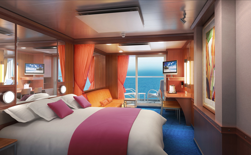 Mini Suite a bordo del Norwegian Pearl