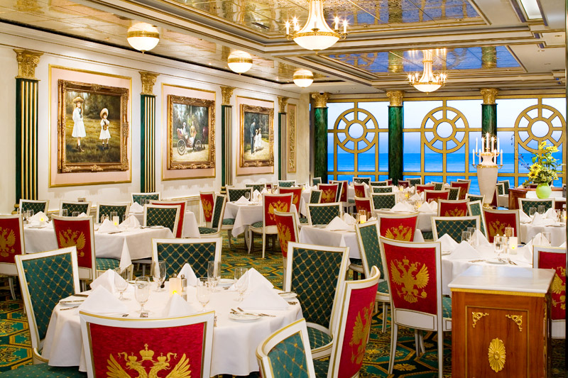 Restaurante Summer Palace en el Norwegian Pearl