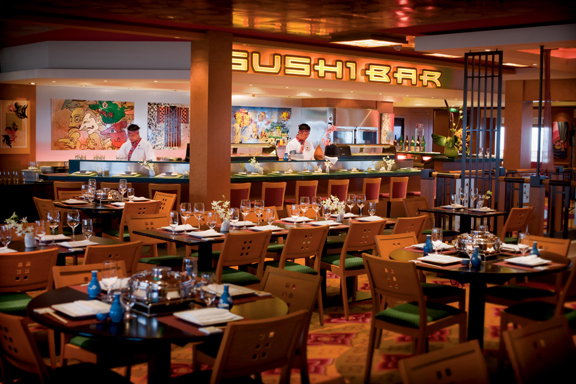 Sushi Bar a bordo del Norwegian Pearl