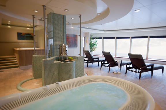 Spa a bordo del Norwegian Pearl