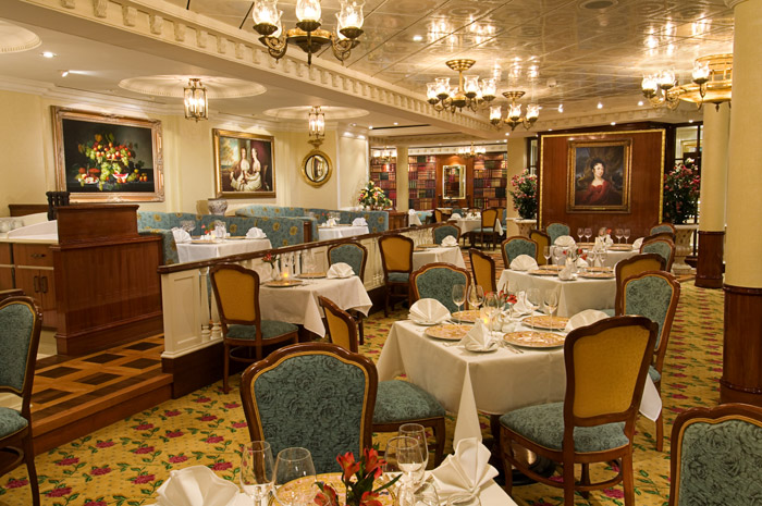 Restaurante a bordo del Pride of America