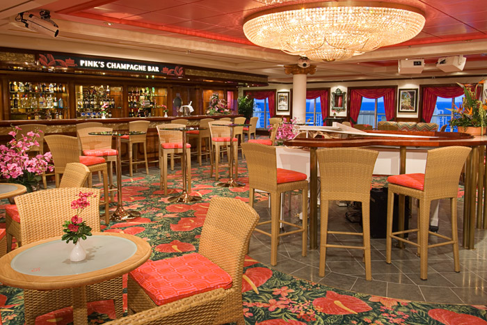 Champagne Bar del Pride of America