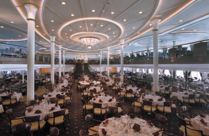 Restaurante a bordo del Rhapsody of the Seas
