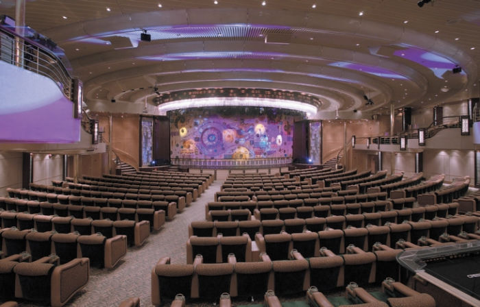 Teatro del Rhapsody of the Seas