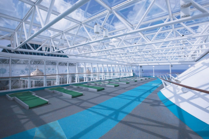 MiniGolf en el Rhapsody of the Seas