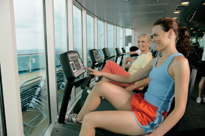 No pierdas la forma en el Rhapsody of the Seas