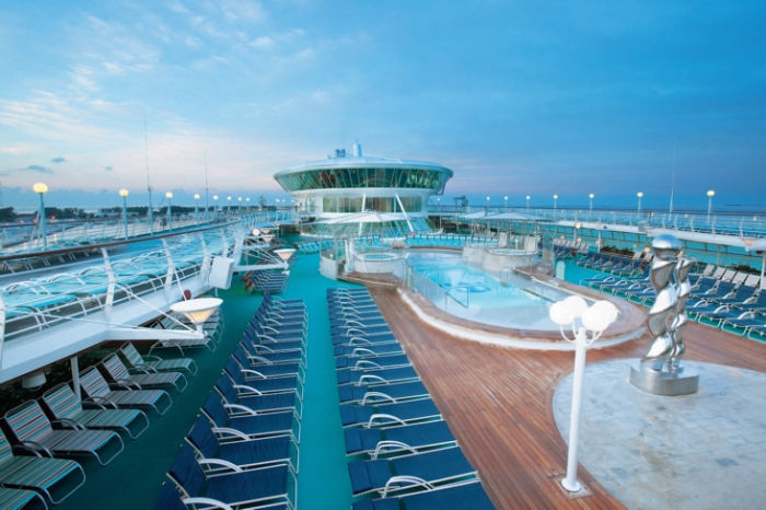 Solarium del Rhapsody of the Seas