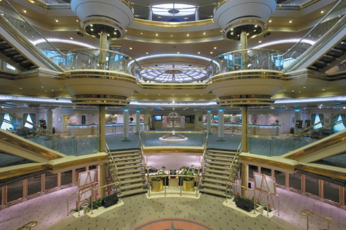 Centrum del Majesty of the Seas