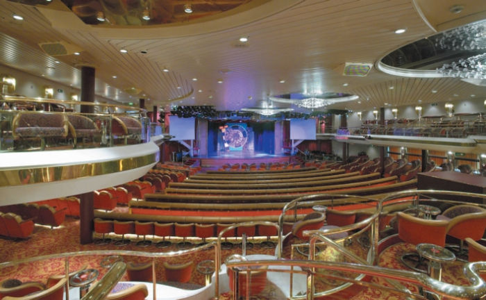 Teatro en el Majesty of the Seas