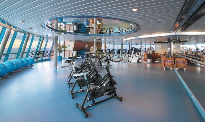 Fitness Center del Majesty of the Seas