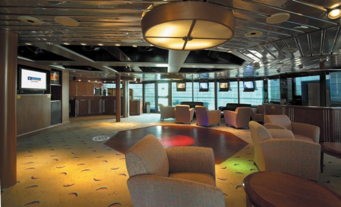 Flashes Lounge a bordo del Majesty of the Seas