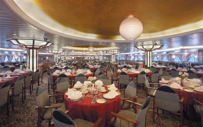 Restaurante en el Majesty of the Seas