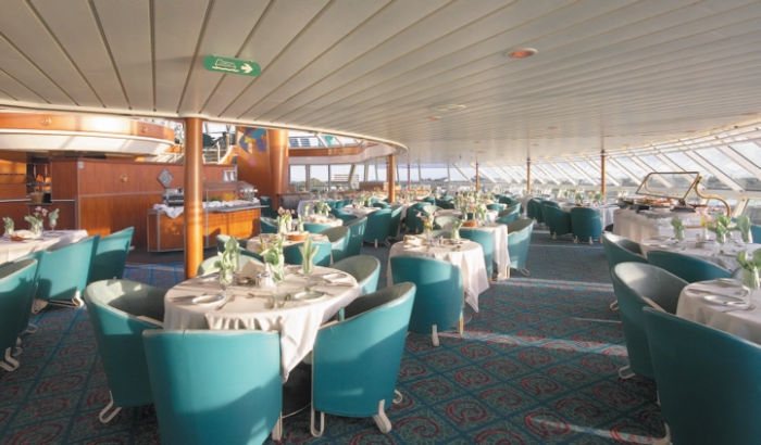Windjammer Café en el Majesty of the Seas