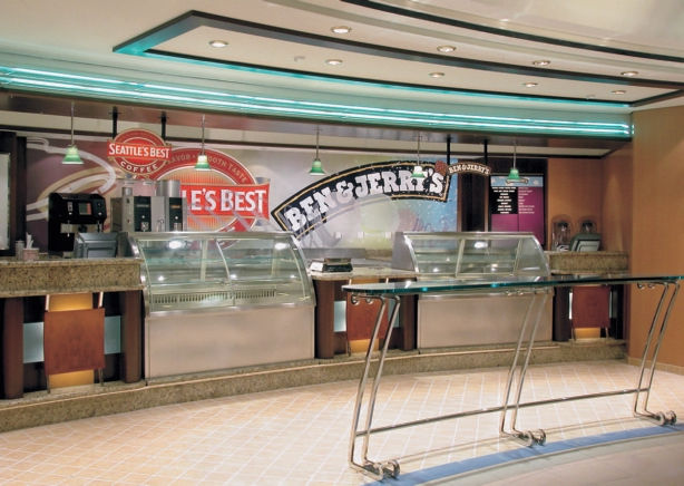 Benvv&Jerry´s a bordo del Monarch of the Seas
