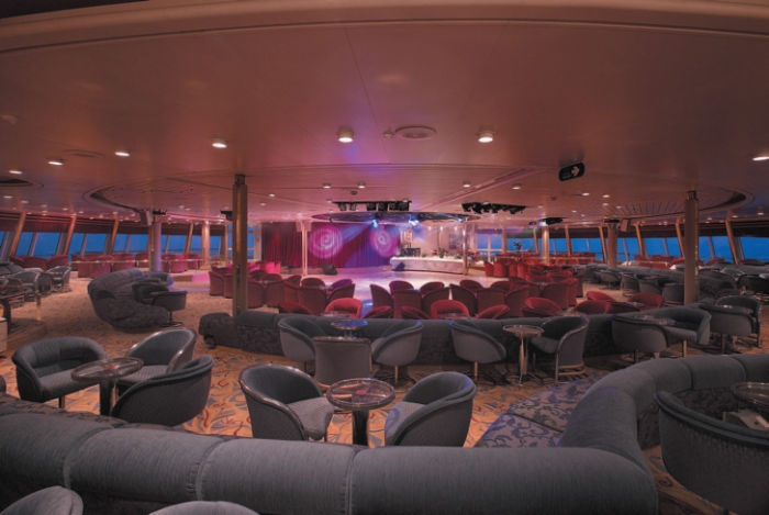 Sala de espectáculos del Monarch of the Seas