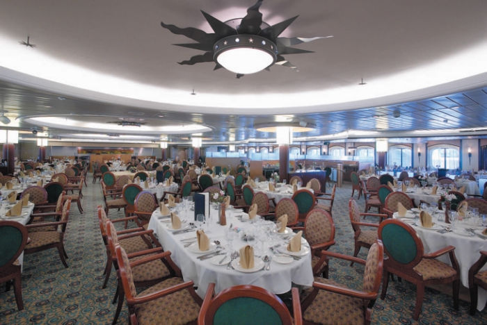 Restaurante del Monarch of the Seas