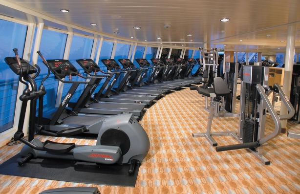 Gimnasio en el Monarch of the Seas