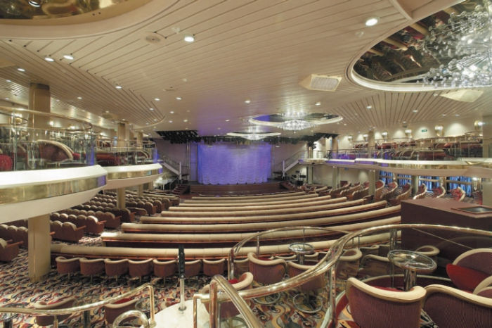 Teatro del Monarch of the Seas