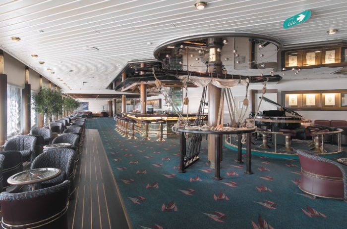 Schooner Bar en el Monarch of the Seas