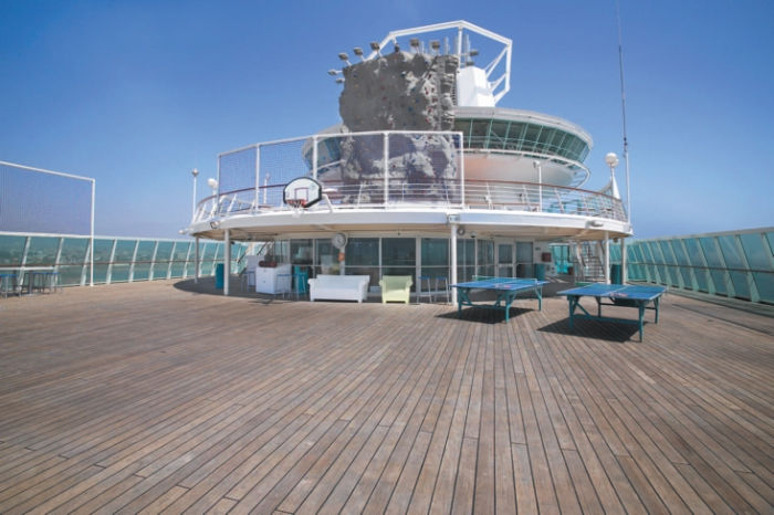 Deporte a bordo del Monarch of the Seas