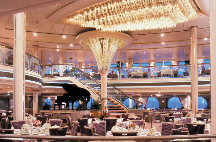 Restaurante en el Rhapsody of the Seas