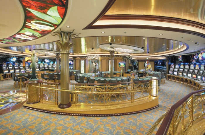 El casino del Brilliance of the Seas
