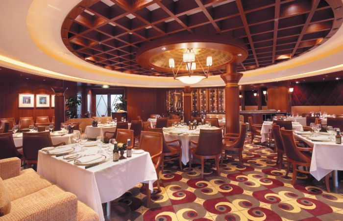 Más restaurantes en el Serenade of the Seas
