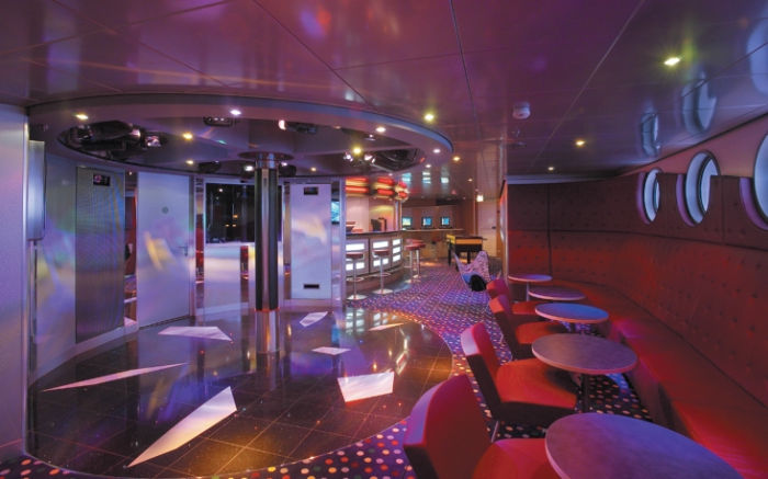 Fuel lounge en el Brilliance of the Seas