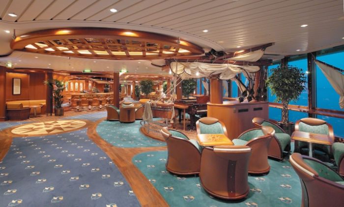Schooner bar del Brilliance of the Seas