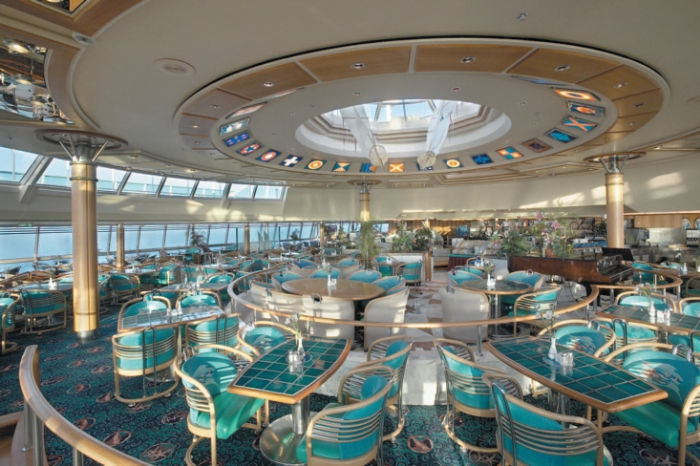 Windjammer Buffet en el Rhapsody of the Seas