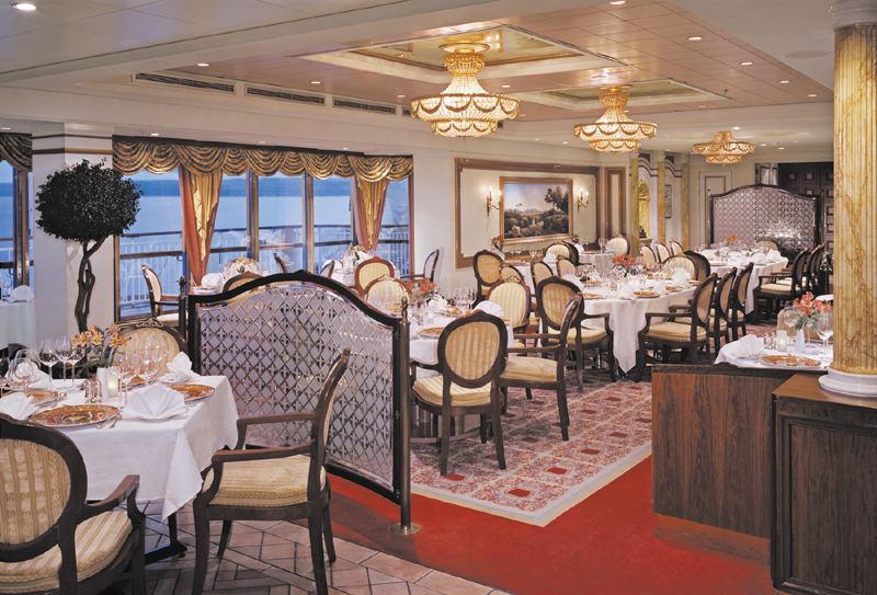Restaurante Cagneys Steakhouse en el Norwegian Spirit