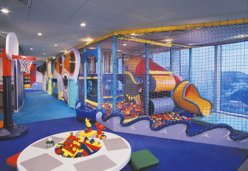 Club infantil a bordo del Norwegian Spirit