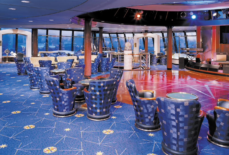 Galaxy Lounge a bordo del Norwegian Spirit