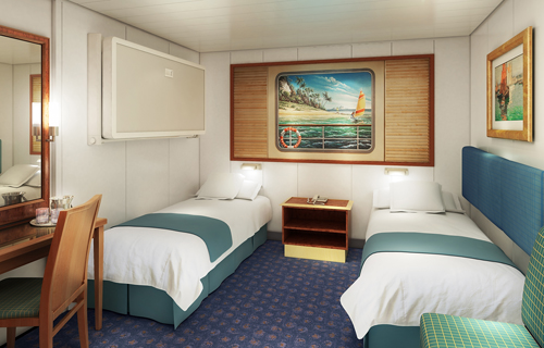 Camarote interior del Norwegian Spirit