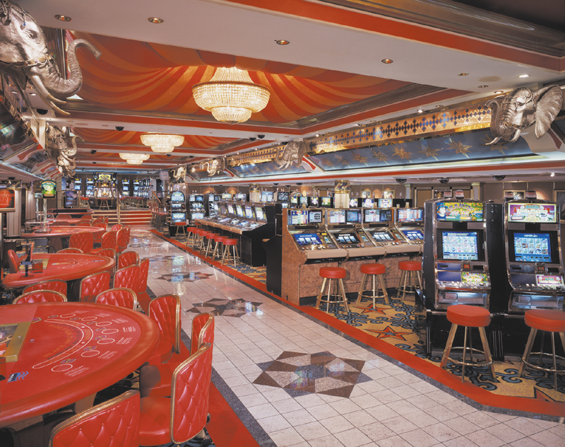 Casino en el Norwegian Spirit